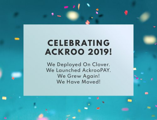 Celebrating Ackroo 2019!