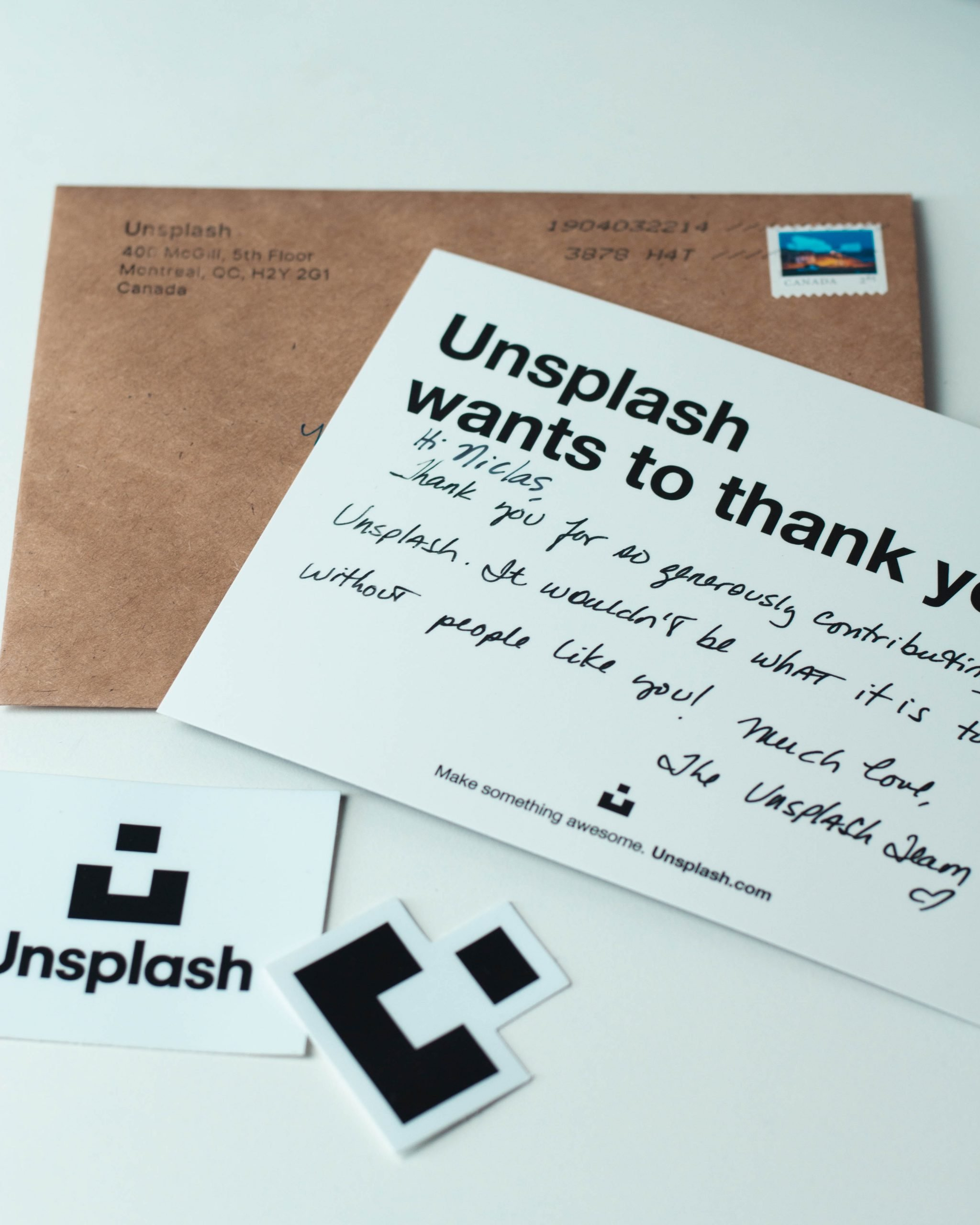personalize your communications by handwriting a note for your customers