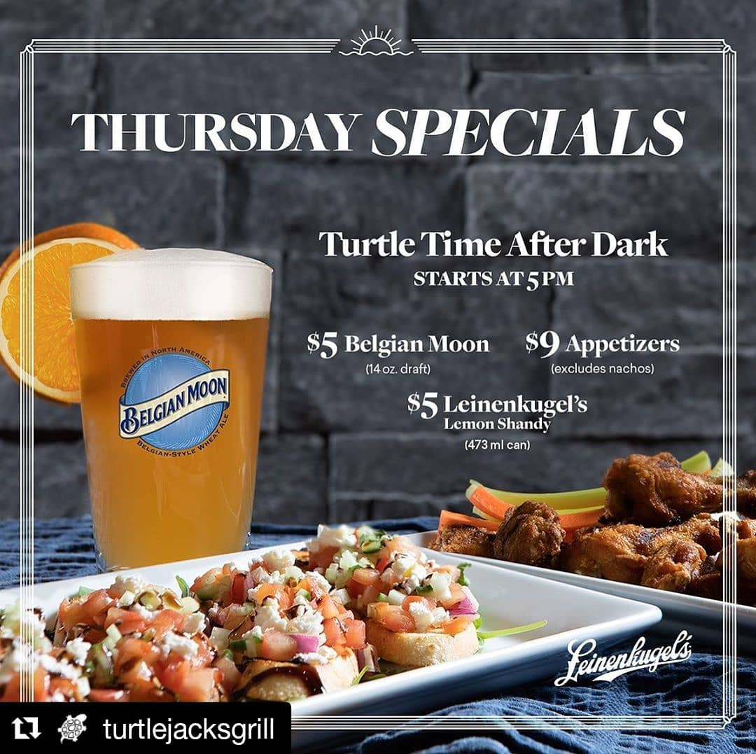 Turtle Jacks runs a promotion on Thursdays after 5 to optimize their busiest time