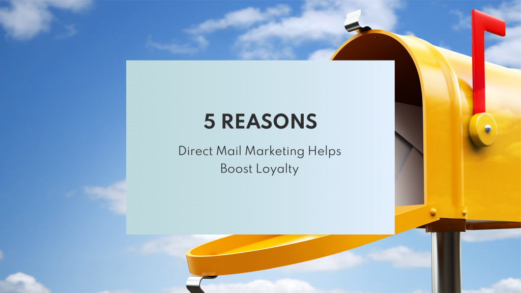 Using Direct mail for marketing