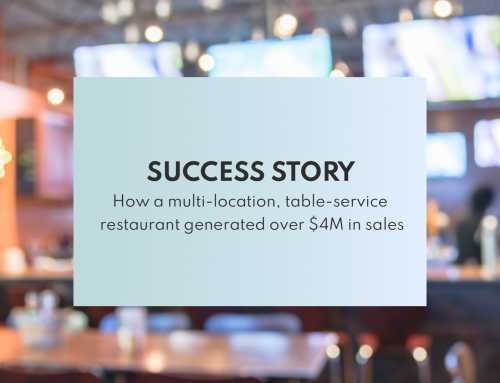 Success Story: Multi-location, table-service restaurant